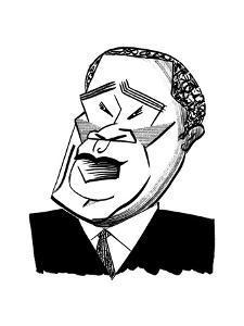Eric Owens - Cartoon by Tom Bachtell