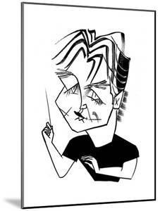 Esa-Pekka Salonen Cal Perf - Cartoon by Tom Bachtell