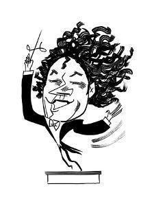 Gustavo Dudamel - Cartoon by Tom Bachtell