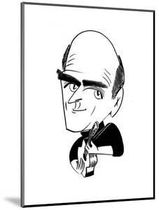 James Taylor - Cartoon by Tom Bachtell