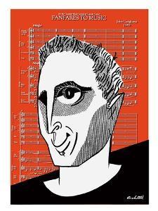 John Corigliano - Cartoon by Tom Bachtell