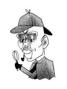 Kareem Abdul-Jabbar - Cartoon by Tom Bachtell