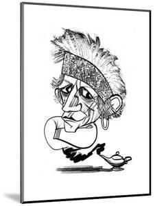 Keith Richards - Cartoon by Tom Bachtell