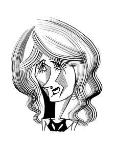 Laura Dern - Cartoon by Tom Bachtell