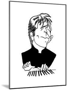 Leif Ove Andsnes - Cartoon by Tom Bachtell