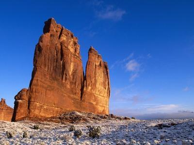 Courthouse Towers Rock Formation
