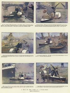 A Trip to the Nore in a Cycle-Boat by Tom Browne