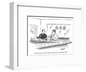 """""""I used to give a damn, but now they have a patch for that."""" - New Yorker Cartoon by Tom Cheney"""