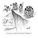 """You call that Wagner?"" - New Yorker Cartoon-Tom Cheney-Premium Giclee Print"