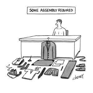 Some Assembly Required - New Yorker Cartoon by Tom Cheney