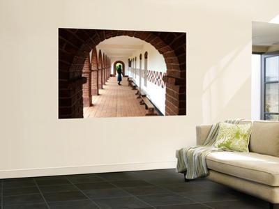Boy in Corridor at Mua Mission