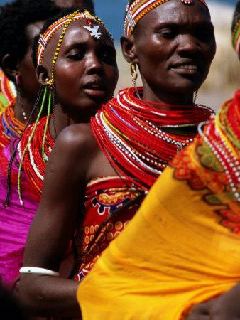 Dancers, El Molo Village, Lake Turkana, Kenya