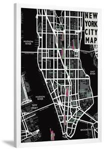 New York City Map by Tom Frazier
