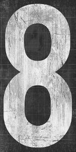 Retro Numbers - Eight by Tom Frazier
