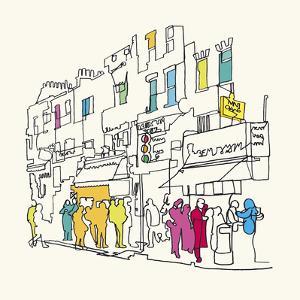 Street Scene I by Tom Frazier