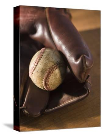 Baseball and Old Mitt