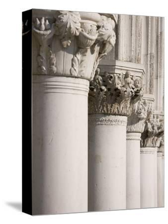 Column Sculptures of Doge's Palace