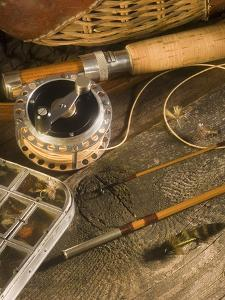 Fly Fishing Equipment by Tom Grill