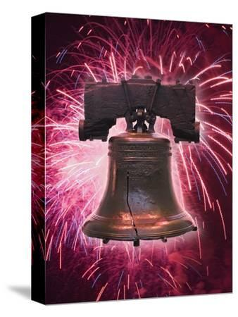 The Liberty Bell and Fireworks