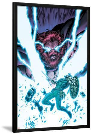 Herc No.9 Cover: Hercules and Zeus Fight in Lightning and Energy