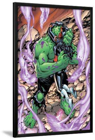 Incredible Hulks No.628: Hulk and Red She-Hulk Hugging and Kissing
