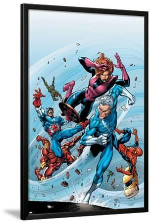 Marvel Adventures The Avengers No.19 Cover: Quicksilver
