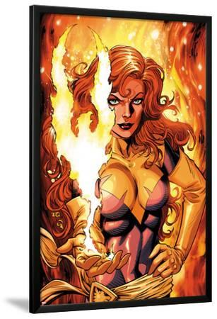 X-Men Forever 2 No.16 Cover: A Flaming Phoenix