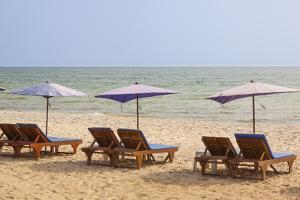 Thailand, Hua Hin. Beach resort town in northern Thailand. by Tom Haseltine
