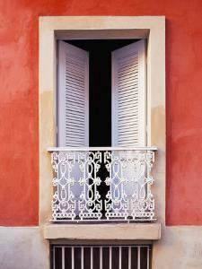 White Shutters, Old San Juan, Puerto Rico by Tom Haseltine