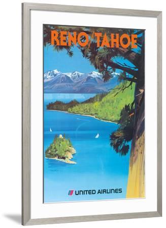 Reno, Nevada - Lake Tahoe, California - United Air Lines