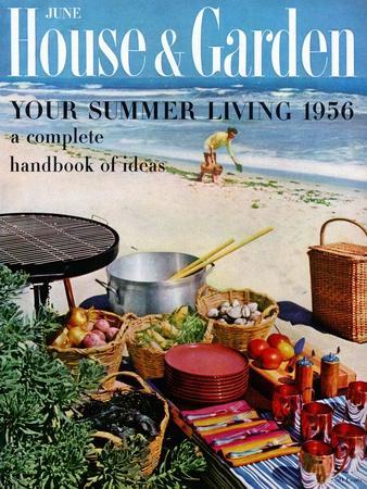 House & Garden Cover - June 1956