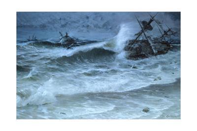 Hurricane Shatters Homebound Spanish Treasure Fleet Near Florida