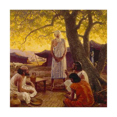 Three Strangers Reveal the Future to Abraham