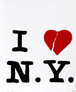 "Bullet Space; Your House is Mine, ""I Love N.Y."" by Tom McGlynn"