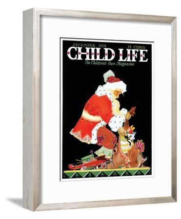 Santa's Bag - Child Life, December 1929