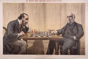 Political Chess, 1887 by Tom Merry