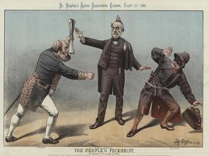 The People's Pecksniff, 1887 by Tom Merry