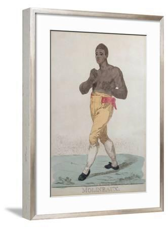 Tom Molineaux (D.1818)-Richard Dighton-Framed Giclee Print