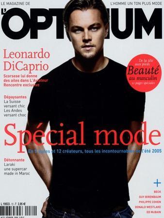 L'Optimum, February 2005 - Leonardo Dicaprio