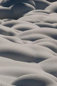 Abstract Detail of Snow Banks by Tom Murphy