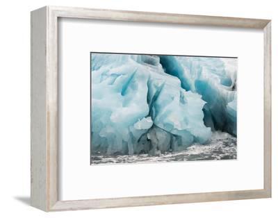 Blue Icebergs in Antarctica