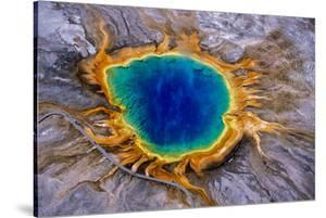 Grand Prismatic Spring, a Hydrothermal Feature in Yellowstone National Park by Tom Murphy