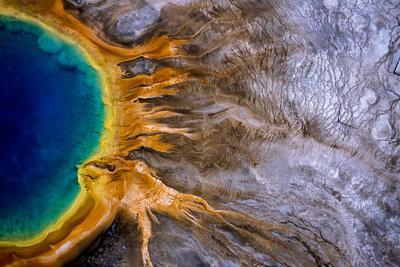 Grand Prismatic Spring, One of the Largest Hydrothermal Features in Yellowstone National Park