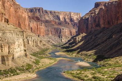 Anasazi Ruins. Nankoweap Granaries. Grand Canyon. Arizona. USA