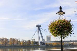 Bridge. Bratislava. Slovakia by Tom Norring