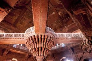 Fatehpur Sikri. Mughal Empire Mosque. Bharatpur. Rajasthan. India by Tom Norring