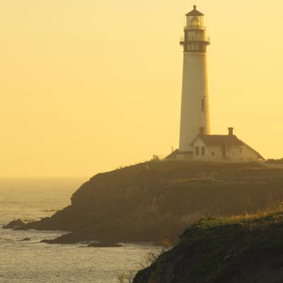 Pigeon Point Lighthouse, Santa Cruz Coast, California, USA by Tom Norring