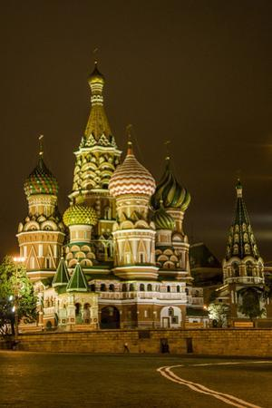 St. Basil's Cathedral. Red Square. UNESCO World Heritage Site. Moscow. Russia by Tom Norring