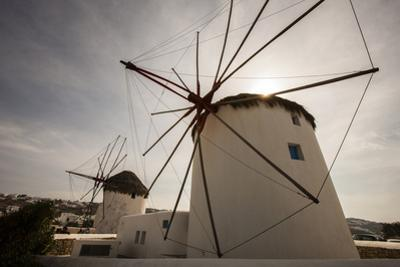 The Famous Wind Mills. Mykonos. Greece by Tom Norring