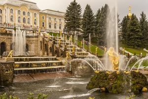 Unesco World Heritage Site. Grand Cascade. Peterhof Palace. Saint Petersburg, Russia by Tom Norring